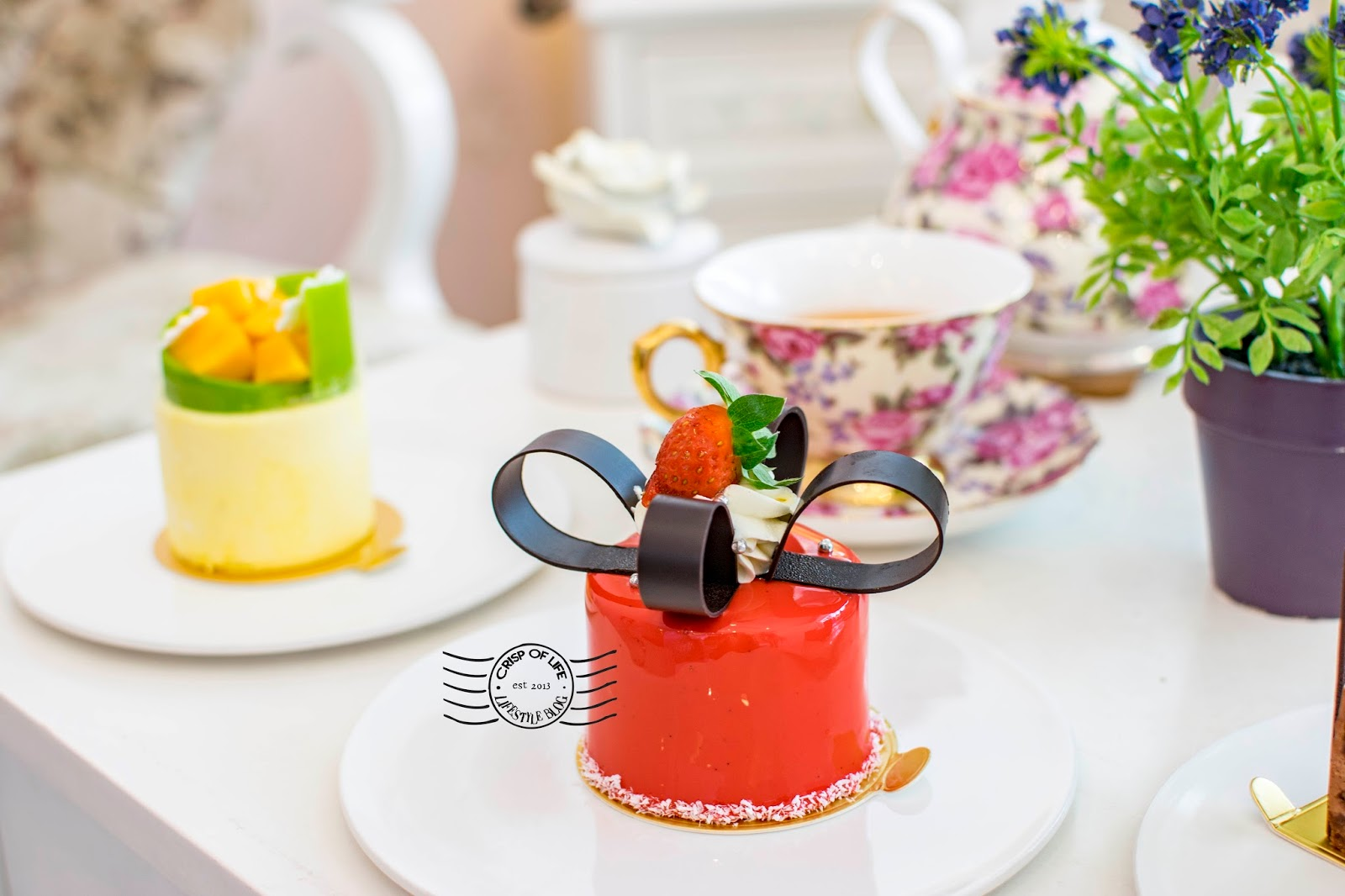 Dessert Cake Pastry House Jalan Gottlieb Vanilla Rosa Penang