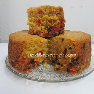 EGG- LESS COOKER FRUIT N NUT CAKE