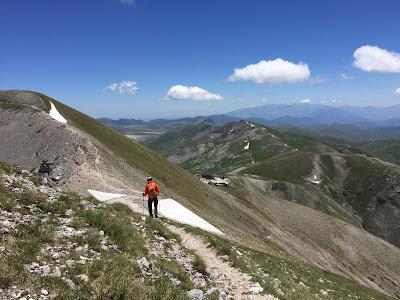 Approaching Rifugio Duca degli Abruzzi