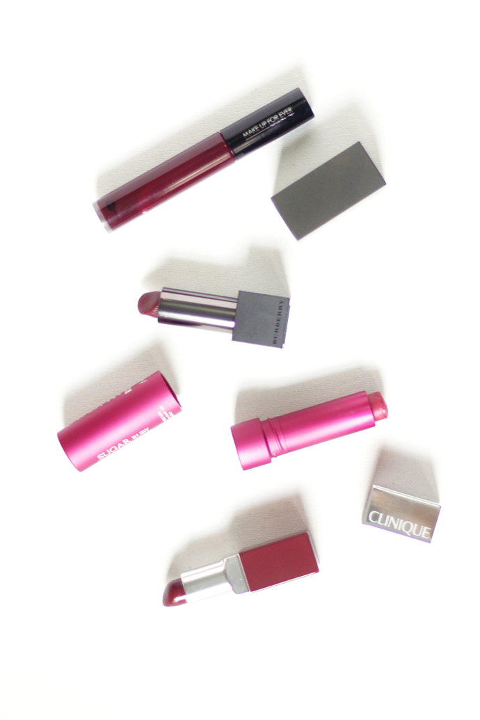 4 Fall/Autumn lipsticks with Burberry, Clinique, Fresh, and Makeup Forever