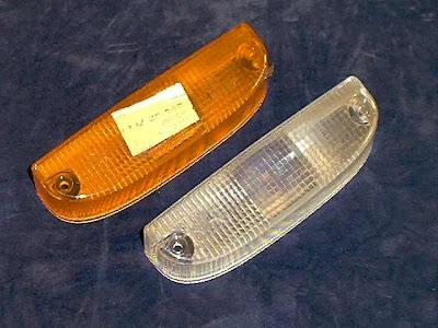Image of 2 Opel Manta A series / Kadett C series indicator lenses