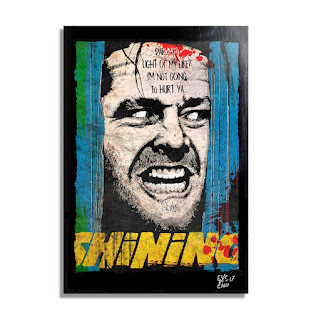 The Shining Movie Pop Art Poster, Stephen King Posters, Stephen king Store