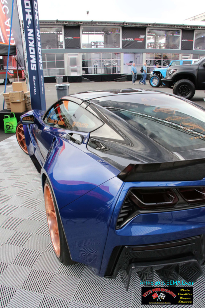 The car presented by Ivan Tampi at SEMA was called the XIK Widebody.