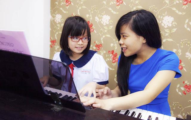 Học Piano 1 kèm 1 tại trường nhạc SMS quận 2