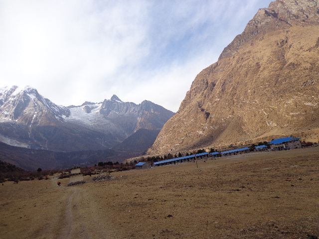 Welcome to samagaon , at the manaslu trekking Nepal.