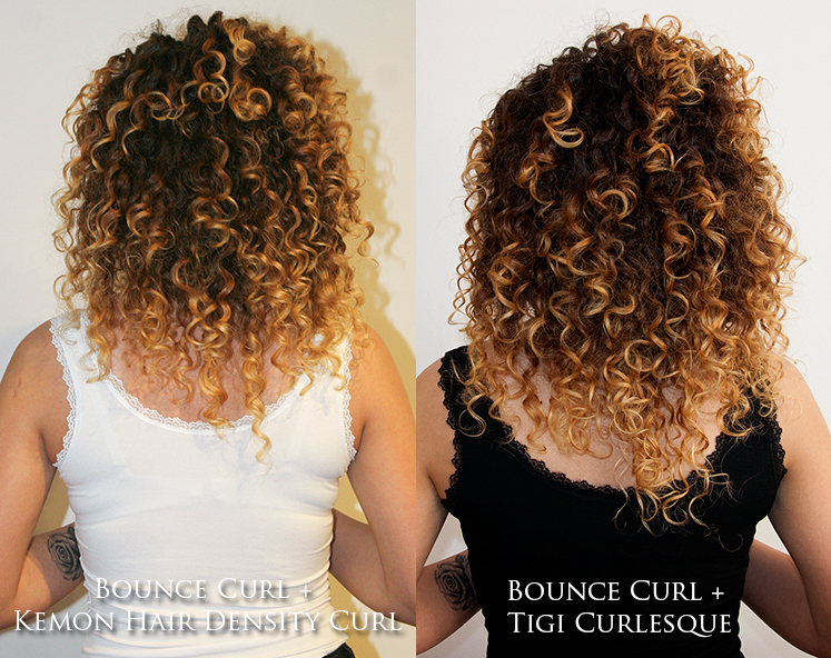 Bounce Curl Light Creme Gel z Kemon i Tigi