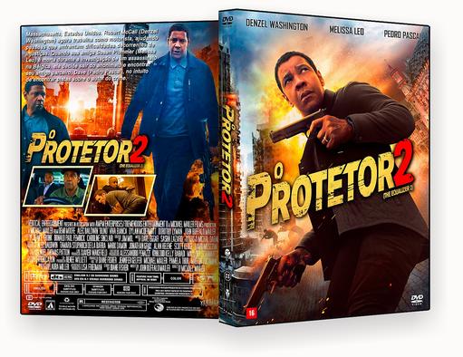 CAPA DVD – O Protetor 2 2018 – Cinema – ISO