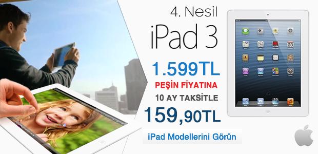 4. Nesil iPad 3 Kampanyası