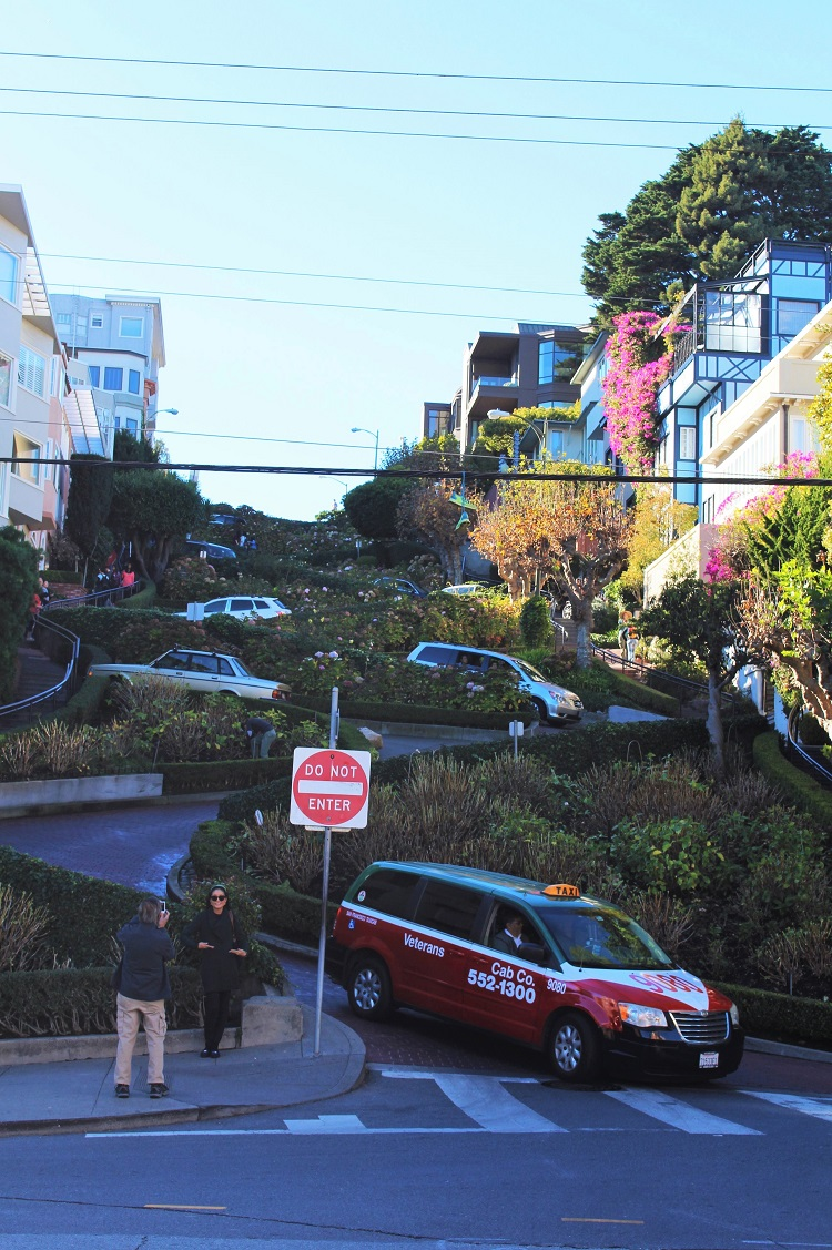 Lombard Street, San Francisco - California travel blog