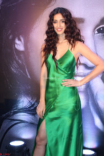 Disha Patani in Beautiful Green Gown at her App Launch 014.JPG