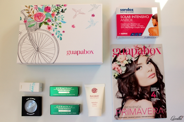 Productos Guapabox Abril 2016