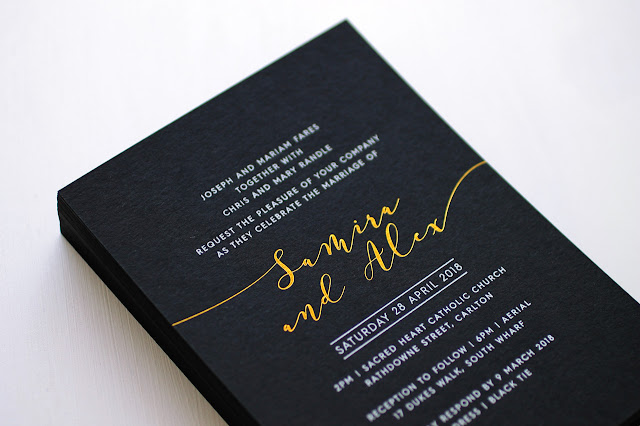 melbourne wedding invitations luxe stationery calligraphy menus