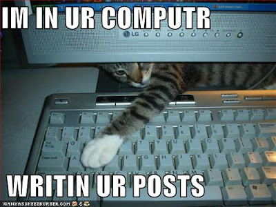 lolcat blogging
