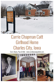 Carrie Chapman Catt - Women's Suffrage Leader's Girlhood Home, Charles City, Iowa