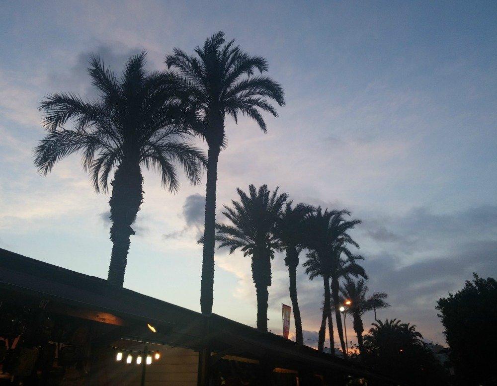 Sunset at Torrevieja, Murcia, Spain
