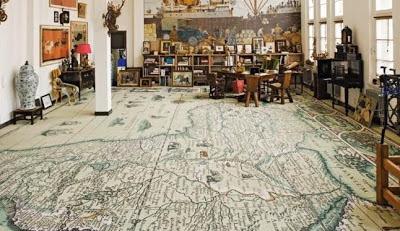 mapas para revestir el suelo
