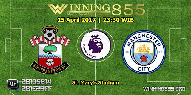 Prediksi Bola Southampton vs Manchester City 15 April 2017