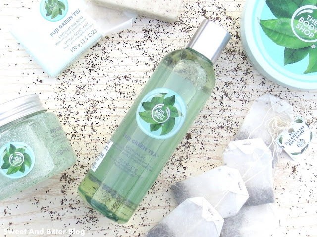 The Body Shop Fuji Green Tea Body Wash Shower Gel Review India