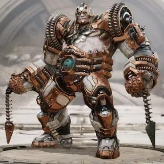 Riktor bronze warden skin Guardián Bronce