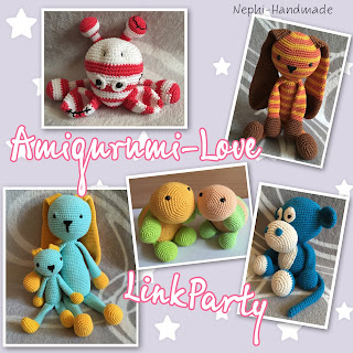 Amigurumi Love Linkparty by nephi handmade