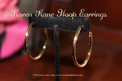 image of Karen Kane hoop earrings