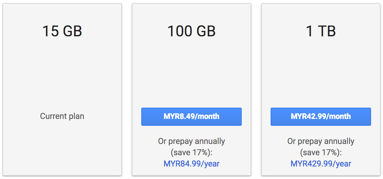 Google Drive Annual Subscription Discount: Pay 10 Months