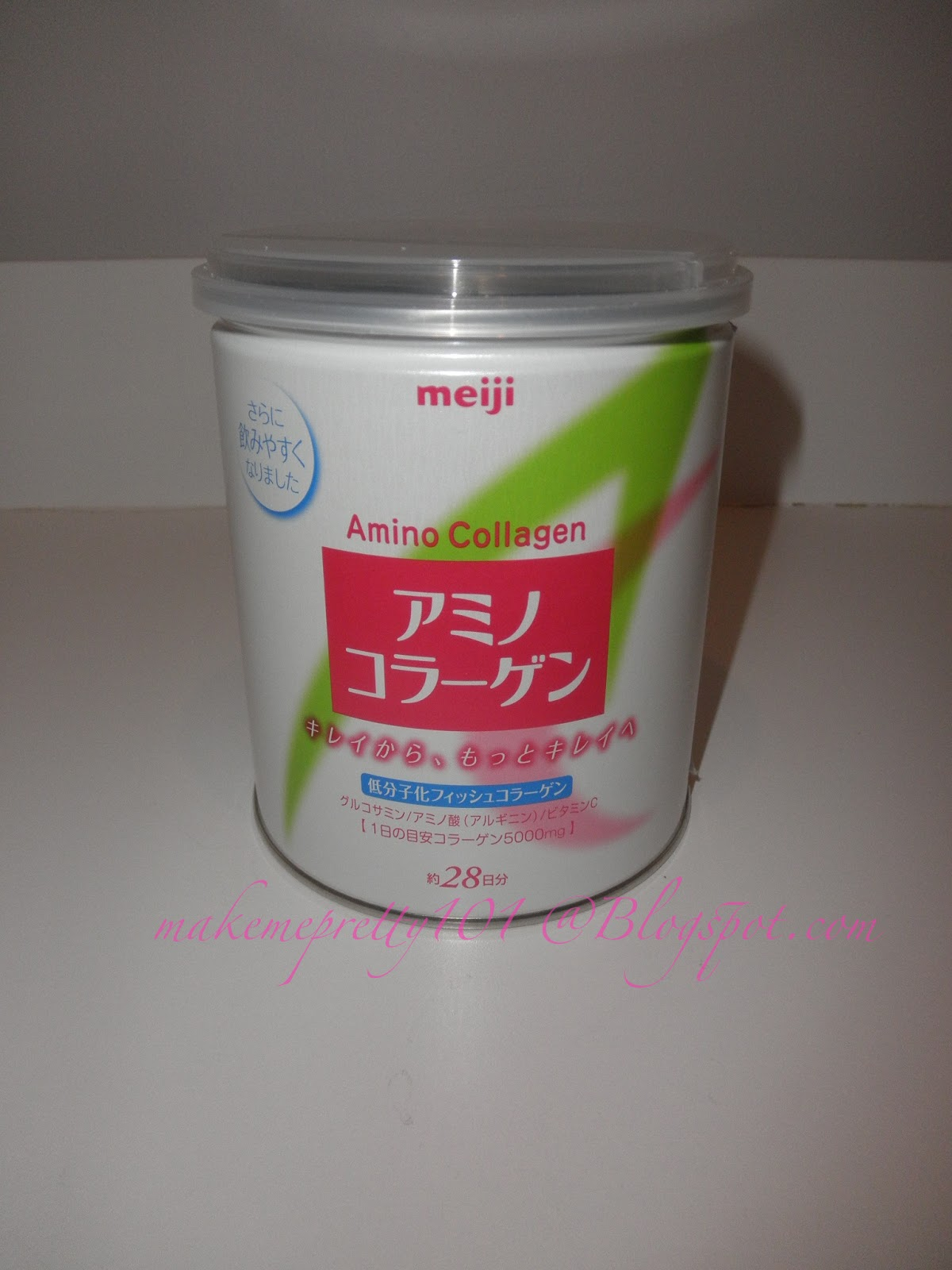 Make Me Pretty 101 Review Meiji Amino Collagen Powder