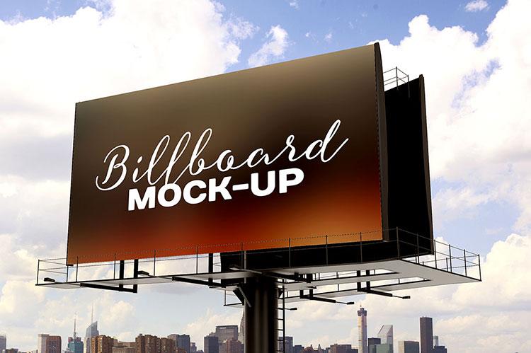 Billboard Mockup PSD Template