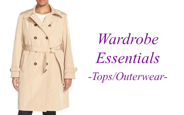wardrobe essentials tops and outerwear