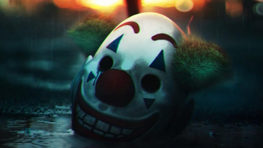 Joker Mask 2019 Movie 4k Wallpaper 798