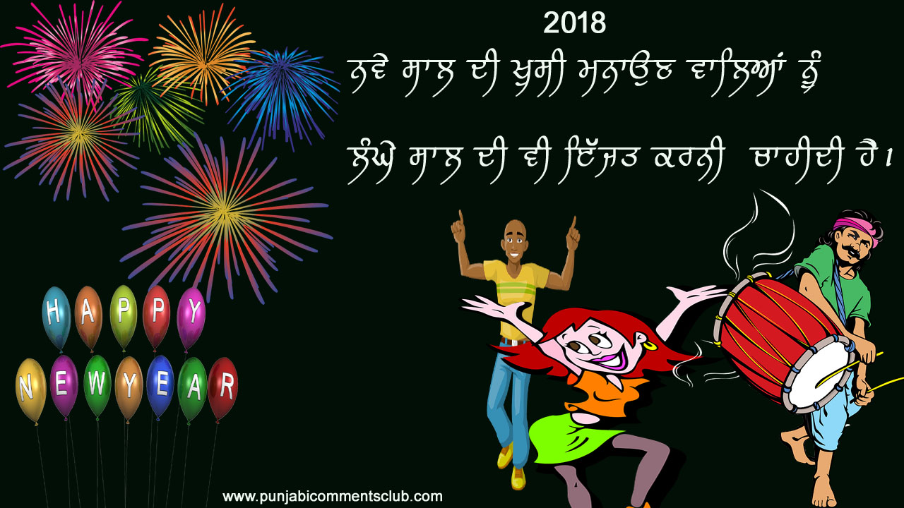 New Year Punjabi Photo