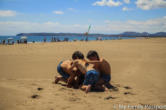 Costa Brava niños