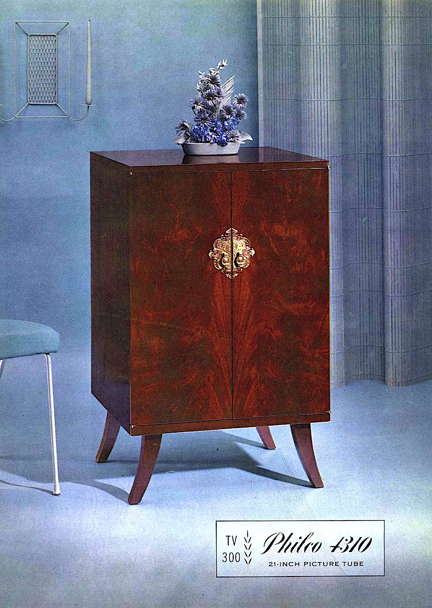 1958 Philco 4310 color photograph