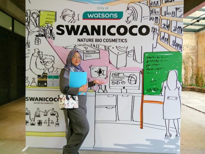 Kecantikan semulajadi Swanicoco kini di Watsons