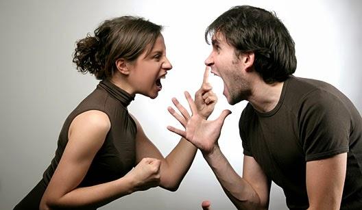 briga com a namorada