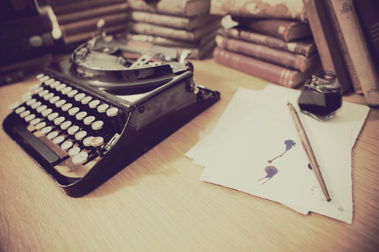 tipografía maquina de escribir