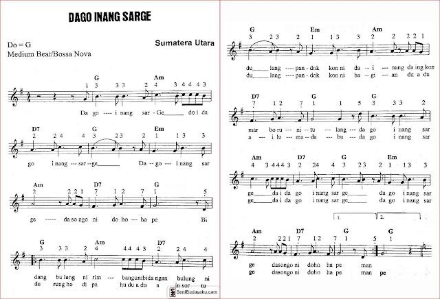 gambar-lirik-dan-not-angka-lagu-dago-inang-sarge-sumatera-utara