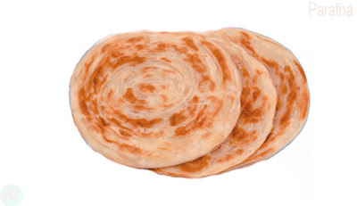 Paratha, Paratha food,
