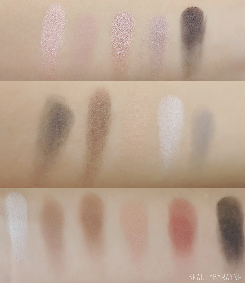 Uran Decay Naked fake dupe palette swatches and review