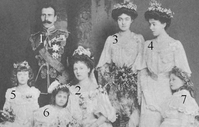 prince  Alexander de Teck princesse Alice d'Albany