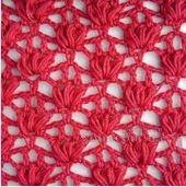 Punto crochet calado #10