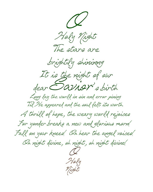The Song Oh Christmas Tree: FREE Christmas Printables To Use As Decor