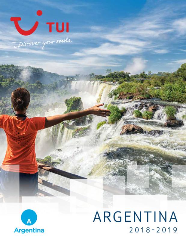 Catálogo TUI Ambassador Circuitos Argentina 2018-19
