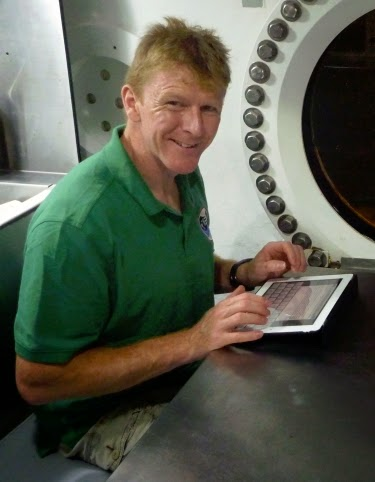 photo of astronaut Tim Peake