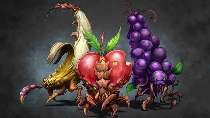 3 boyutlu meyve resimleri