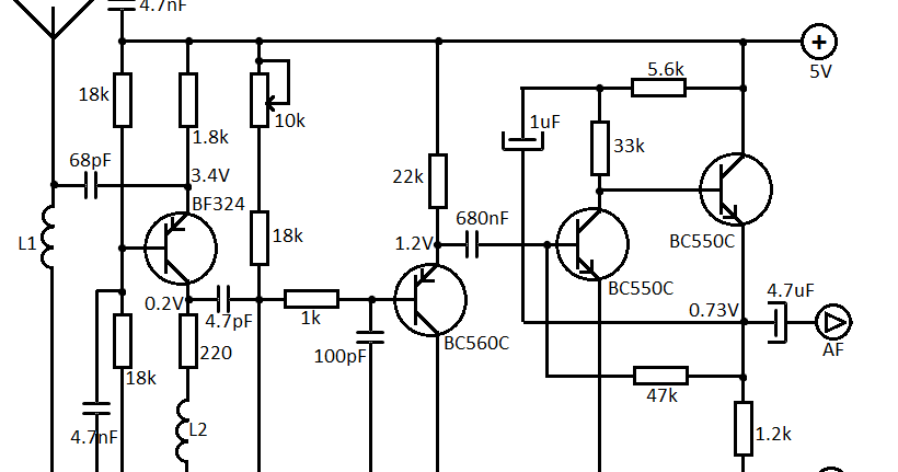 Circuitos Eletrônicos.: Pequeno receptor de FM e vhf