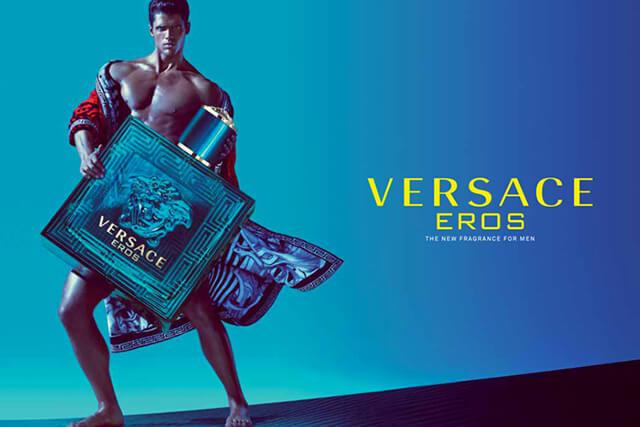Versace Eos Erkek Parfum Afisi