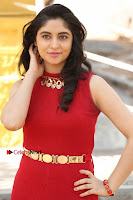 Telugu Actress Zahida Sam Latest Pos in Red Gown at RF Films New Movie Opening  0030.JPG
