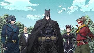 Batman Ninja - Batman, Robin, Red Robin, Catwoman, Alfred, Nightwing